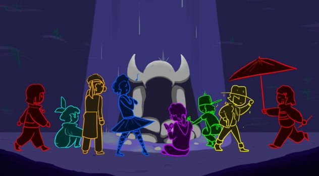 Undertale - The Fallen Humans by TheAnnoyer002