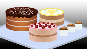cakes by BearN