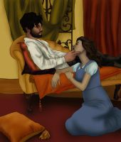 Belle + the Huntsman: He'll come for you by BLOOD-and-LUST-87
