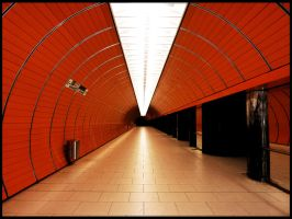 Munich Subway by RebelAssasin311