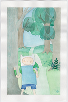 Finn The Human by TrefleIX