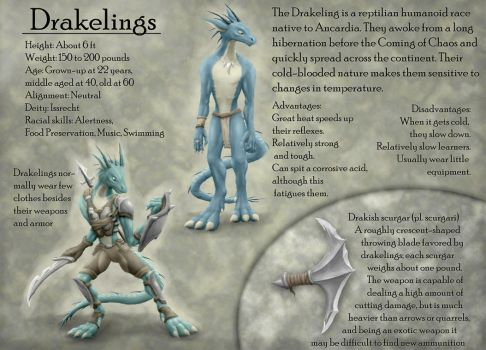 Drakeling reference - comm. by Seastalker