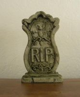 Halloween tombstone 2 by Gothicmamas-stock