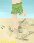 Crushing SandCastle by starrawesome123