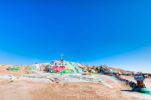 Salvation Mountain HDR by trevor-w