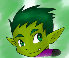 Beast Boy_6 by BeastGreen