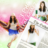 PNG PACK (59) Selena Gomez by DenizBas