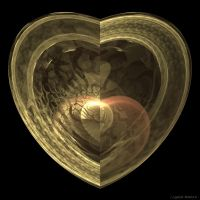Heart within a Heart by GraphicLia