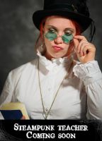Steampunk teacher preview by Meltys-stock