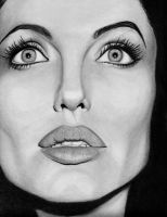 Angelina Jolie - In Darkness by DawnsLaugh