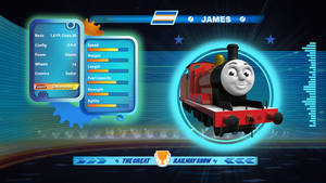 James in the Great Railway Show by The-ARC-Minister