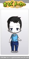 ChibiMaker Microsoft Sam trying something new by tigerclaw64