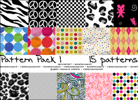 Pattern Pack 1 by monsterousxr3