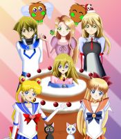.: In a Cake :. by Sincity2100