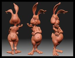 Le Rabbit - ZBrush by JoseAlvesSilva