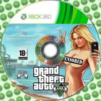 GTA V DVD 2 - Disc Cover Xbox 360 by MasterJim360
