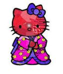 Hello Kitty Kimono Mash up by PsychV1