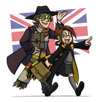 Chameleon Charm: London Trip by forte-girl7