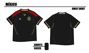 Mexico Away Shirt 2011 by miicho