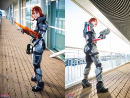 Commander Shepard - Ready for Battle by xPandorae