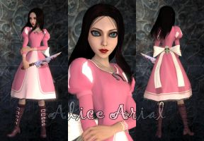 Alice Arial game mod by Brusya