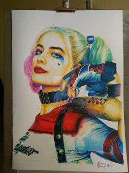 Harley Quinn by TomHornArt