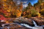 HDR Autumn Falls 2009 REV by Nebey