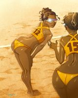 Beach Volleyball by BerolEagle