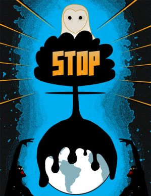 Stop the oil, war, etc