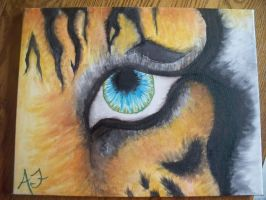 Eye Of The Tiger :revisited: by somebodyaf