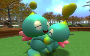 Big Chao, Little Chao by FrankRT