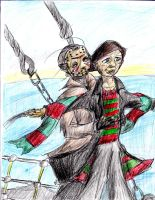 Freddy and Jason - Titanic by HorrorMadnessPeep