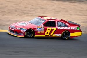Joe Nemechek at Sonoma by SharkHarrington