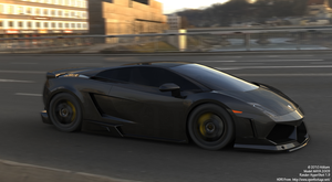 Lamborghini LP 560-4 Grey by atikarn