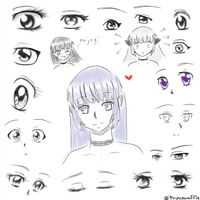 more eyes by ChibiPandaMonster