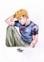 The Hunger Games: Peeta Mellark by SilkSpectreII