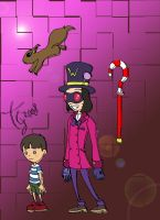 Willy Wonka by toongrowner