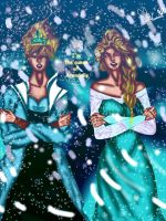 I\'m the queen of Arendelle by Soraya-Mendez