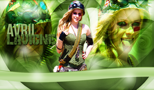 +Wallpaper Avril Lavigne. by Melody478
