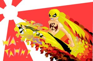 IRON FIST CAN O WHUPPAA by KingFridayJoe