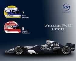 Williams FW30 by ShinjiRHCP