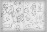 Daily doodles 23.09.14 by Gilmec