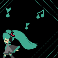 Miku Wallpaper ?? by DuckyDeathly