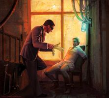 Netrunner: Witness Tampering by lorraine-schleter