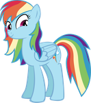 Motherly Rainbow Dash by PonyVector
