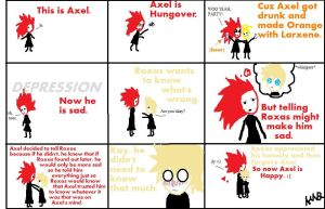 This is Axel. by Lo-0