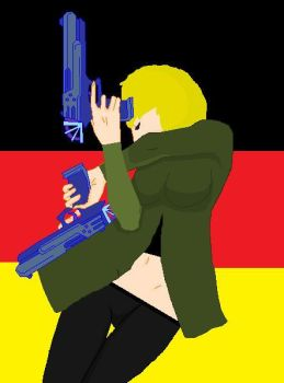 GermanSoldier!Sierra by WellHayGorgeous5