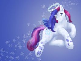 Snow'el Wallpaper by ClemiKinkajou
