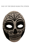 Day Of The Dead Mask PNG STOCK by KarahRobinson-Art
