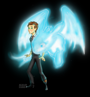 Hiccup's patronus by AngelBellator
